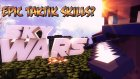 TAKTİK Mİ? - Minecraft Sky Wars - Gökyüzü Savaşları- Barış Oyunda