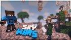 Tanımadığım Oyuncularla Takım Oldum! - Minecraft Sky Wars - Gökyüzü Savaşları- Baris Oyunda