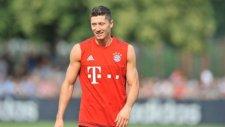 Bayern Münih'li oyuncuların yarışması bile değişik!