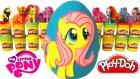 MLP Fluttershy Sürpriz Yumurta Oyun Hamuru - My Little Pony Oyuncakları