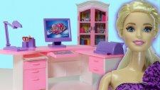 Barbie ve Ailesi Yeni Ofis Heyecanı   Barbie Oyunları   EvcilikTV