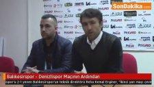 Balıkesirspor - Denizlispor Maçının Ardından - Teknik Direktörü Palaz'ın Açıklamaları