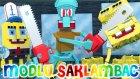 Minecraft : Modlu Saklambaç - Sünger Bob Modu! (Sponge Bob) W/azizgaming,barış Oyunda