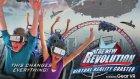 Roller Coaster'a Binip Sanal Gerçeklik Cihazı Takmak