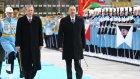 Azerbaycan Cumhurbaskanı Aliyev Türkiye'de