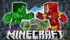 Hulk Kafa Vs İron Man | Minecraft Süper Kahramanlar Modu | Bölüm 2 - Oyun Portal