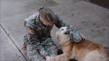 3 Aydır Görmediği Sahibini Görünce Ağlayan Duygusal Köpek