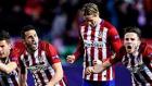 Atletico Madrid 0-0 PSV Eindhoven / 8-7 (Geniş Özet / Penaltılar / 15 Mart Salı 2016)