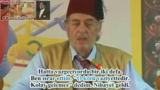 Kadir Mısıroğlu'nun, Atatürk'ün Ruhunu Çağırması
