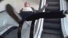 En Komik Yürüyen Merdiven Kazaları  Funny Videos&Escalator Accidents Emre Afyon