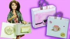 Barbie Alışveriş Çantasında Hangi Eşyalar Var   Barbie izle   EvcilikTV