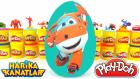 Harika Kanatlar Sürpriz Yumurta Jett Oyun Hamuru - Harika Kanatlar Oyuncakları Cicibiciler Spiderman