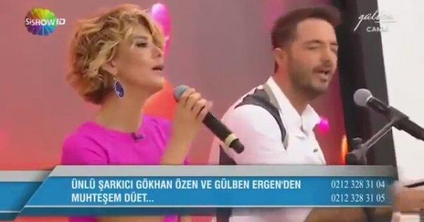 Gulben Ergen Gokhan Ozen Haydi Soyle Izlesene Com
