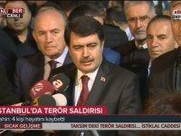 İstanbul Valisinden Evlere Şenlik Patlama Açıklaması
