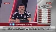 Oğuzhan Özyakup'un Golünde BJKTV (Beşiktaş 1-0 Antalyaspor)