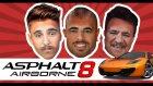 Yüz Değiştirme Cezalı Asphalt 8 Oynuyoruz