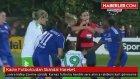 Chelsea ile Wolfsburg maçında, Kadın Futbolcudan Skandal Hareket