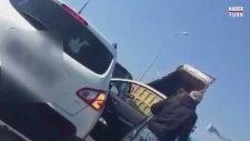 Yola Hafriyat Döküp Kaçan Kamyon Sürücüsü