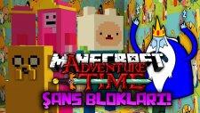 BUZ KRALI PRENSESİ KAÇIRDI! - Minecraft ADVENTURE TİME ŞANS BLOKLARI!