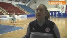 Mersin Kadın Baskette Şampiyonluk Hedefliyor - Antremandan Detaylar