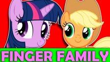 My Lıttle Pony New Fınger Famıly Songs   Twilight Sparkle   Applejack Rainbow Dash