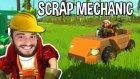 İlk Arabamızı Yaptık | Scrap Mechanic #1