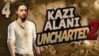 Kazı Alanı - 4 - Uncharted 2 Türkçe [ps4]  - Yesil Devin Maceralari