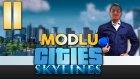 Modlu Cities - 11 - Yaptım, OLDU!  - Yeşil Devin Maceraları