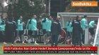 Türkiye A Milli Takımın Antalya Kampı Sürüyor