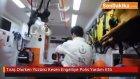 Gaziantep'te Tıraş Olurken Yüzünü Kesen Engelliye Polis Yardım Etti