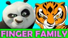 KungFu Panda NEW Finger Family Perfect Kids Song