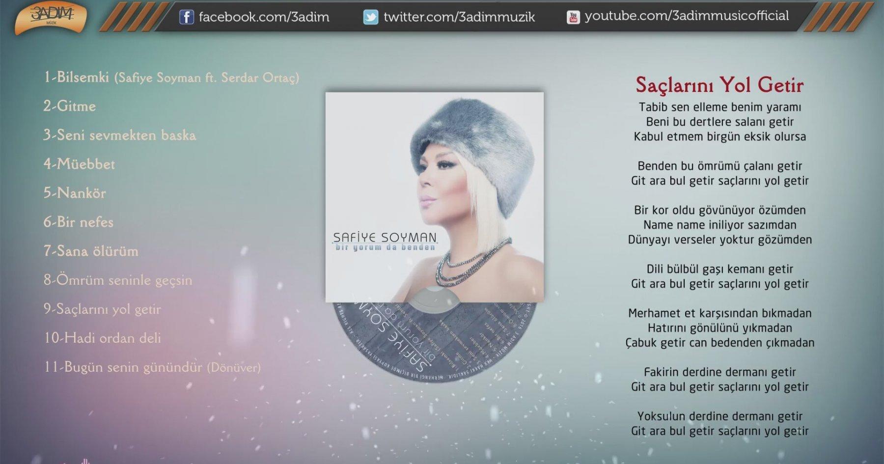 sale retailer latest design undefeated x Safiye Soyman - Saçlarını Yol Getir