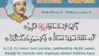 Abdulbasit Abdussamed - İnfitar Suresi ve Meali