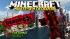 Minecraft'ta Modsuz Deadpool Olmak! 1.9 (Tek Komut Bloğu)