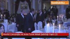 Mevlüt Çavuşoğlu ve Arda Turan Nikah Şahitliği Yaptı (2)