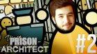 Prison Architect w/ Azelza #2 | MÜDÜR! [Türkçe]- Azelza Gaming