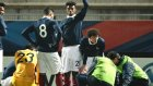 Genç Fransız oyuncunun ayağı kırıldı