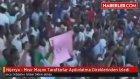 Nijerya - Mısır Maçını Taraftarlar Aydınlatma Direklerinden İzledi