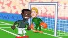 Almanya - İngiltere Maçı Animasyon Film Oldu