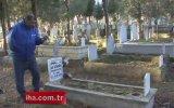 Çocukluğundan Beri Mezarlıkta Yaşayan Adam  Eskişehir