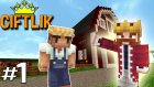 Nova'nın Çiftliği - Minecraft Çiftlik #1 (Saçma Minecraft Devamı)