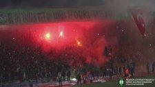 Kocaelispor Taraftarından Süper Lig Takımlarını Kıskandıracak Şov