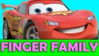 Cars Movie Cartoon New Finger Family Song Nursery Rhymes
