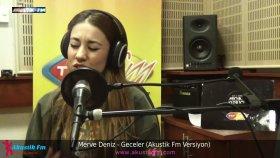 Merve Deniz - Geceler (Akustik Canlı Performans)