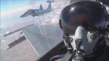 Türk ve Azeri Savaş Uçakları TURAZ Şahini Tatbikatı Yaptı