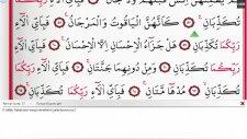 Medine İmamları - 55 - Rahman Suresi ve Meali Ok Takipli