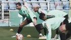 Ronaldo Antrenmanda Coştu, Quaresma Kendini Gülmekten Alamadı.