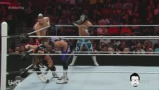 6-Man Tag Team Match | TR Anlatım | WWE RAW - 28.03.16