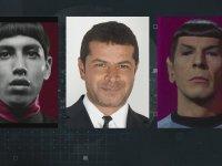 Cüneyt Özdemir'e Mr. Spock Demek