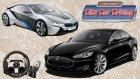 Logitech G27 ile CCD // Tesla Model S vs BMW İ8 [Elektriğin Gücü]
